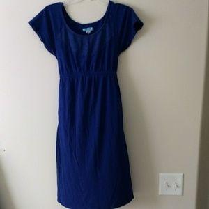 Indigo Old Navy Maternity dress